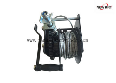 Cina Bahan Baja Manual Worm Gear Winch Worm Gear Ceiling Winch Tangan 1500 LB pabrik